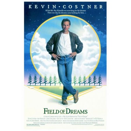 Pop Culture Graphics MOVIF8312 Field of Dreams Movie Poster Print, 27 x 40 ()