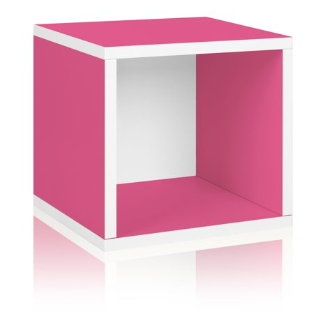Way Basics Eco Stackable Storage Cube and Cubby Organizer,