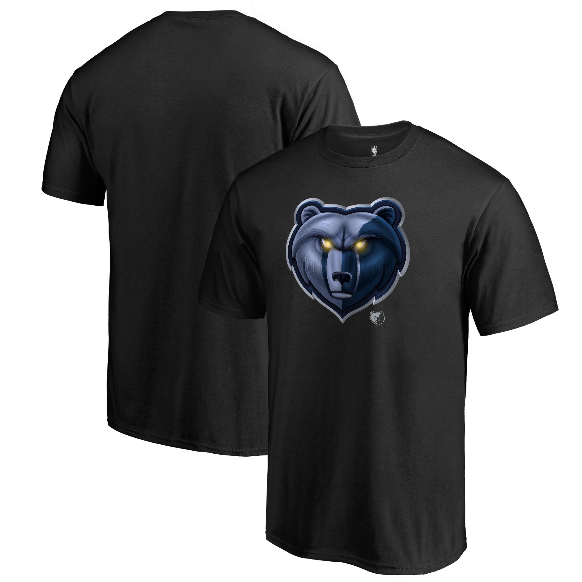 Memphis Grizzlies Fanatics Branded Midnight Mascot Big and Tall T-Shirt - Black