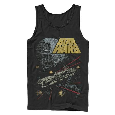Star Wars Men's Millennium Falcon Battle Tank Top