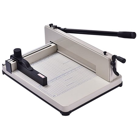Costway 12 Inch A4 Paper Cutter Guillotine Trimmer Cutting Machine Heavy Duty 400 Sheets ()