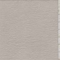 Light Chai Tan Shimmer Crinkled Crepe, Fabric By the Yard