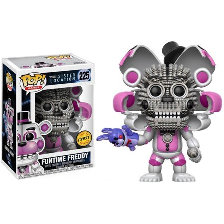 Funko Funtime Freddy  Chase    Five Nights At Freddys   Sister Location Pop Games Vinyl Figure  Comes In A Window Display Box By Fnaf