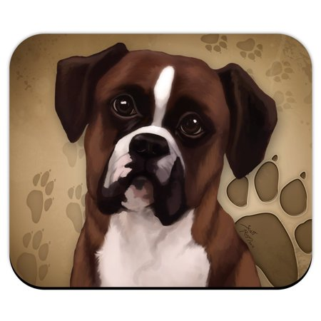 Boxer for Dog Lovers Only Mouse Pad by DGS (Boxer Dog Ipad)