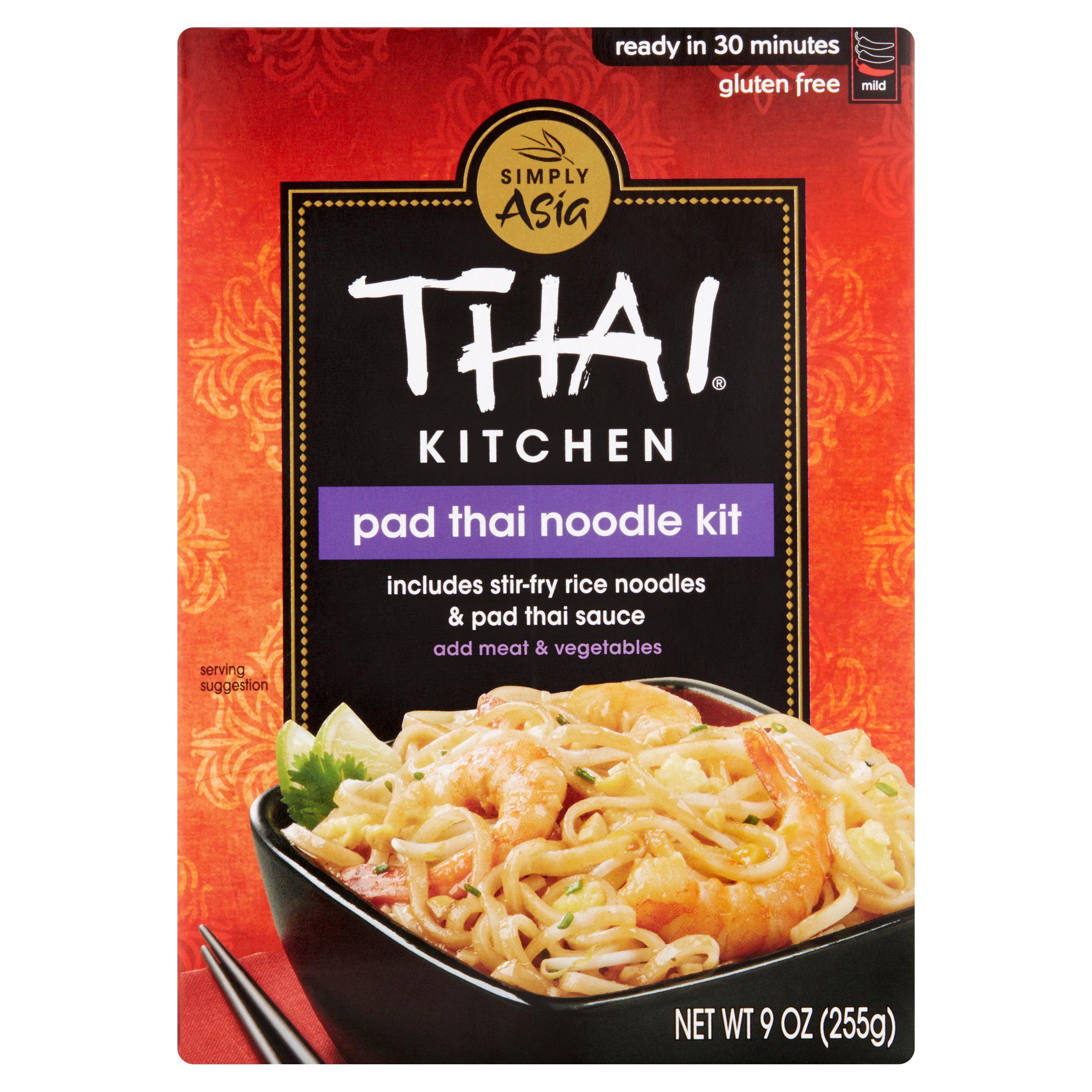 Thai Kitchen Pad Thai thai kitchen gluten free original pad thai stir fry noodles, 9 oz