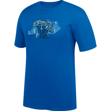 Men's Royal Kentucky Wildcats Distressed State Logo T-Shirt](Kentucky Wildcats Logo)