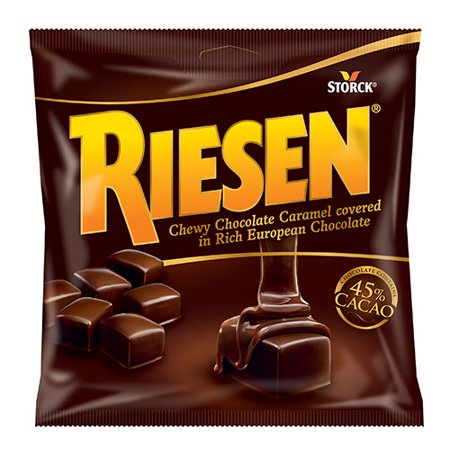 Riesen Chewy Caramel Chocolate, Pack of 12