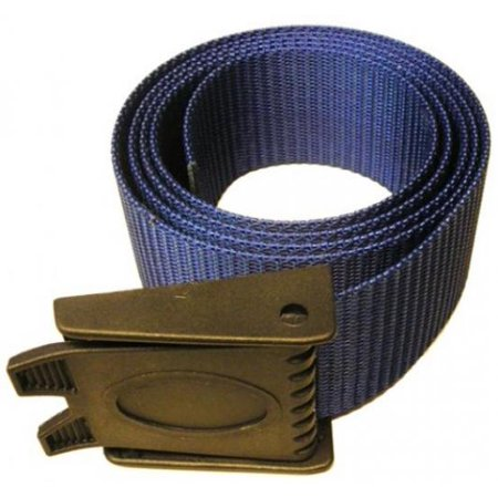 Storm 60in Weight Belt with Plastic Buckle for Freediving and Scuba