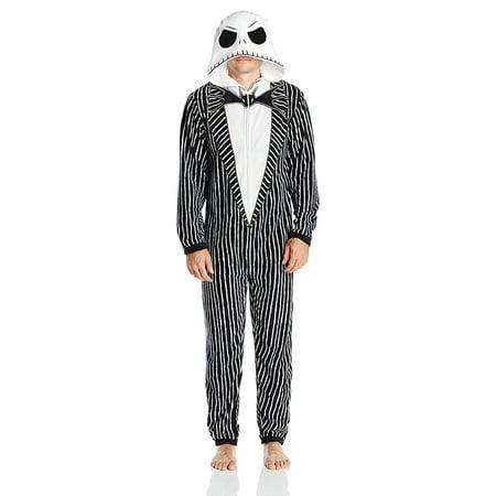 Nightmare Before Christmas Men's Uniform Union Suit - Halloween Costume Nightmare Before Christmas
