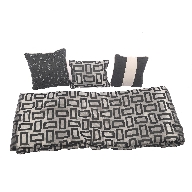 mainstays 7 piece geo comforter set – walmart inventory