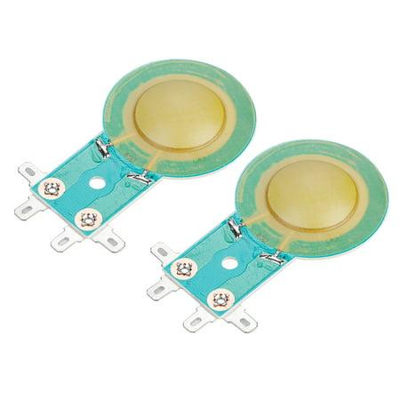 Sonew 2PCS 25.5mm Replacement Resin Diaphragm High Pitch Horn Sound Voice Coil, Horn Diaphragm, Voice Coil - image 5 de 7