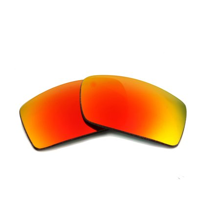 Replacement Lenses Compatible with RAY BAN 4057 Polarized Red (Mirror Lens Aviators Ray Bans)