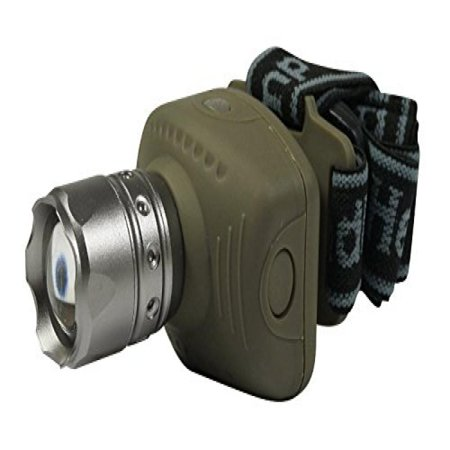 SE FL8206-3W 3-Watt Zoom Headlamp with Vertical