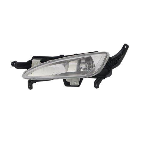 NEW DRIVER SIDE FOG LIGHT FITS KIA OPTIMA EX LUXURY 2013 922012T010 KI2592124 (2013 Kia Optima Sx T Gdi Specs)