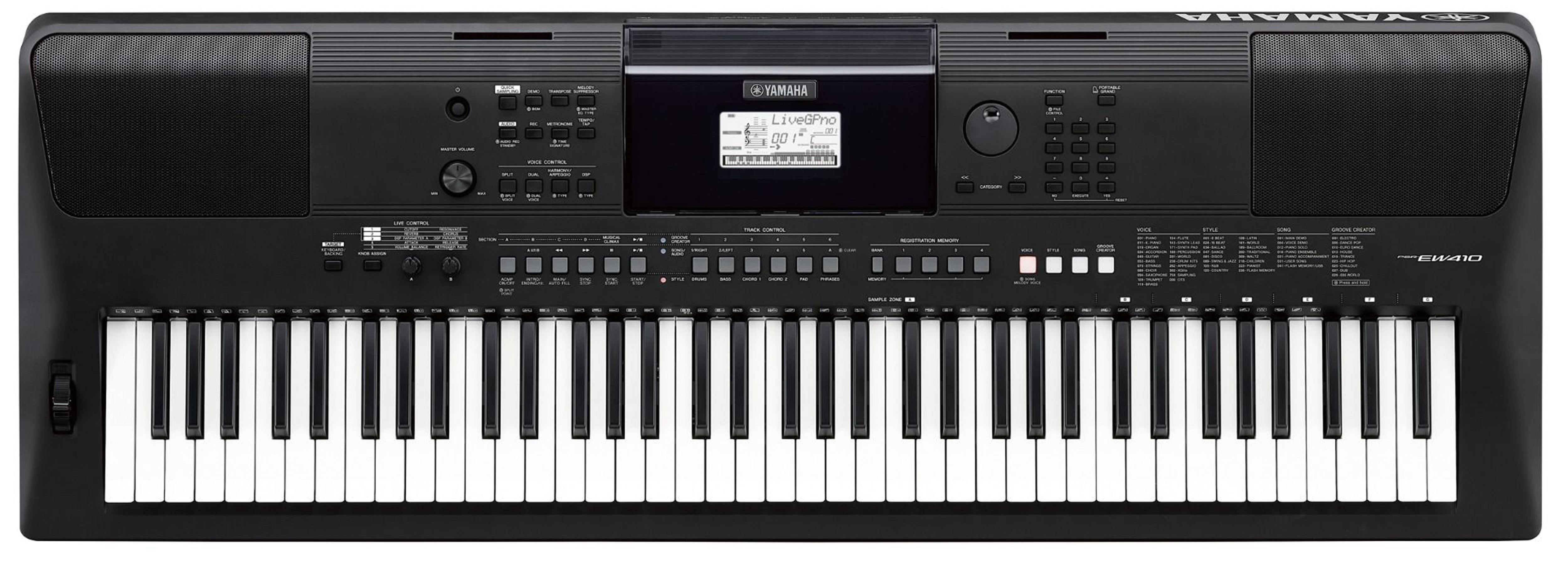 Yamaha PSR-EW410 76-Key Portable Keyboard by Yamaha