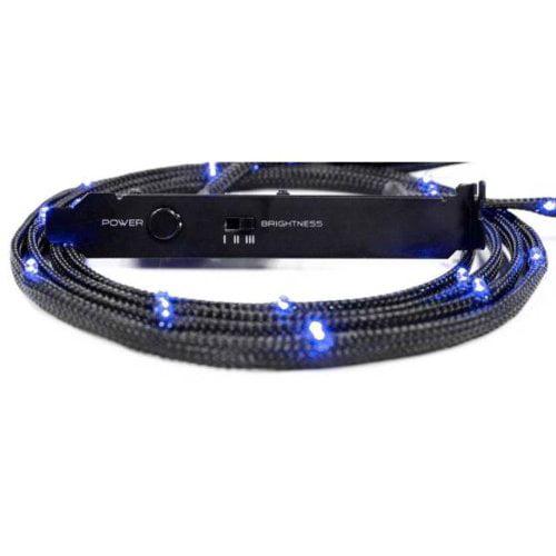 NZXT CB-LED20-BU 2m Sleeved LED Kit (Blue) CB-LED20-BU ; CABLE-NT-CB-LED2-U