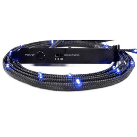 Nzxt 110661 Accessory Cable-nt-cb-led2-u Sleeved Led Kit Case Light 2 Meter Blue