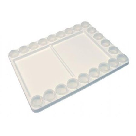 Heritage Arts Heavy-Duty Plastic Palette with Removable (Heritage Artist Palette)