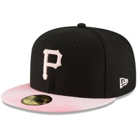 Pittsburgh Pirates New Era 2019 Mother's Day On-Field 59FIFTY Fitted Hat - Black/Pink