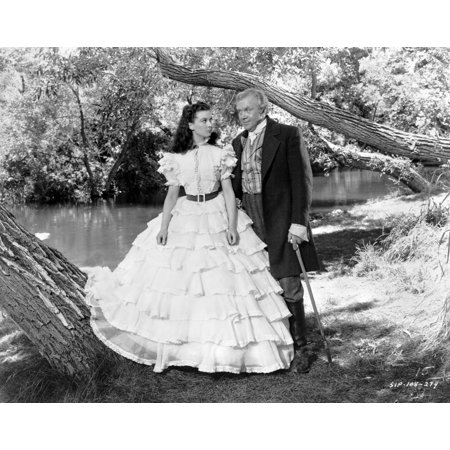 Gone With The Wind Scarlett OHara and Stuart Tarleton Portrait Photo Print (Scarlett Ohara Costume)