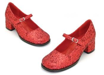 Eden Childrens Red Glitter Maryjane