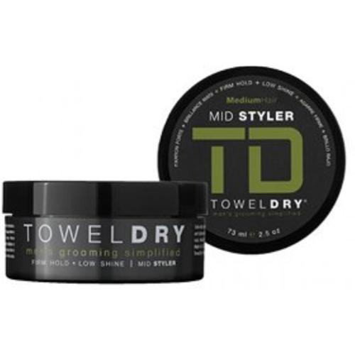 Towel Dry Mid Styler, Medium Hair, 2.5 oz