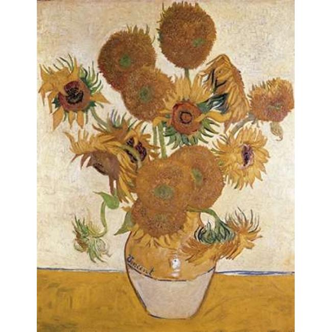 Bentley Global Arts PDX281311SMALL Sunflowers 1888 Poster Print by Vincent Van Gogh, 11 x 14 - Small - image 1 of 1