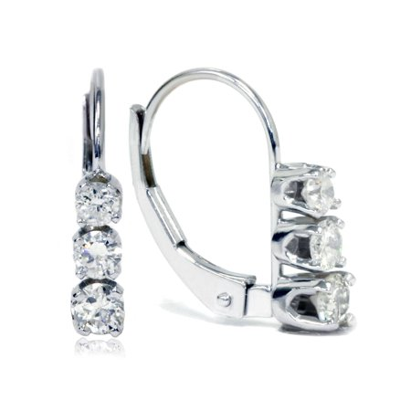 diamond gold image white itm ebay earrings loading is s studs