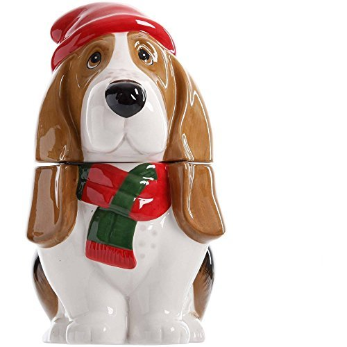11-Inch Holiday Charlie Ceramic Cookie Jar by, The Pioneer Woman 11-Inch Holiday Charlie Ceramic Cookie Jar By... by