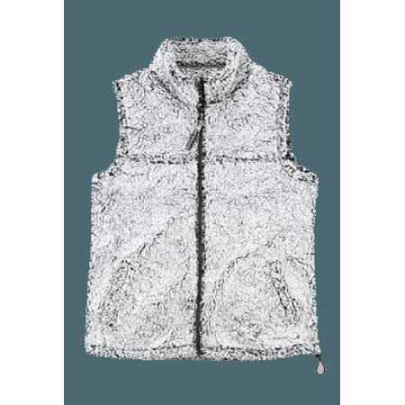 Boxercraft Adult Super Soft Full Zip Sherpa Vest
