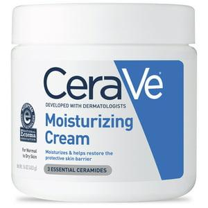 CeraVe Moisturizing Cream, Face and Body Moisturizer, 16 oz.