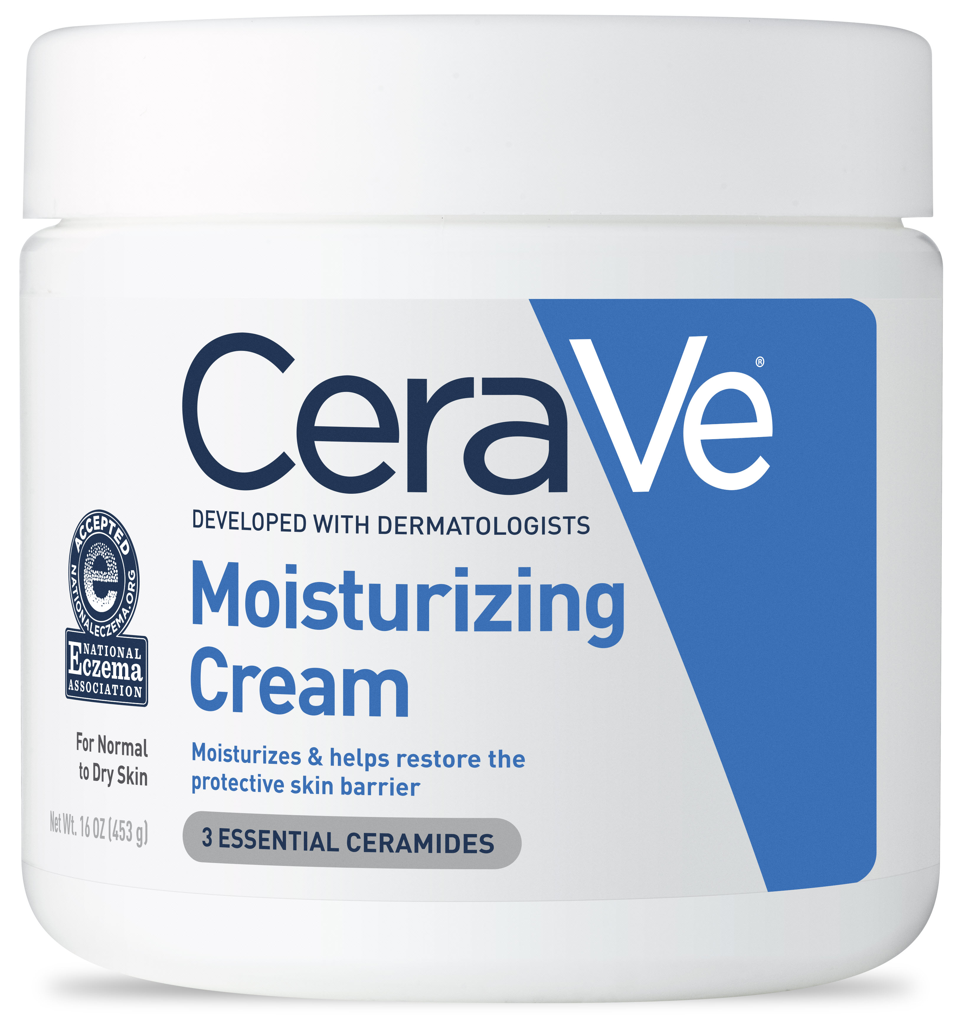 CeraVe Moisturizing Cream, Face and Body Moisturizer, 16 oz.