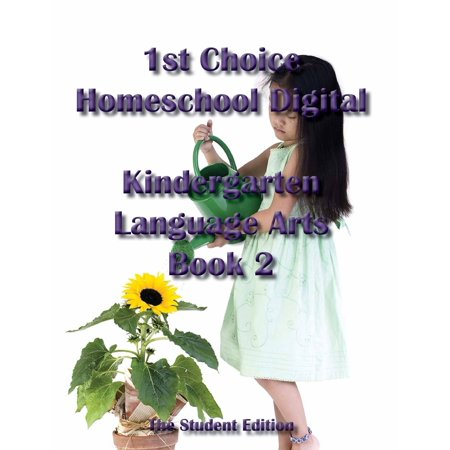 1st Choice Homeschool Digital Kindergarten Language Arts Book 2 - Student Edition - eBook