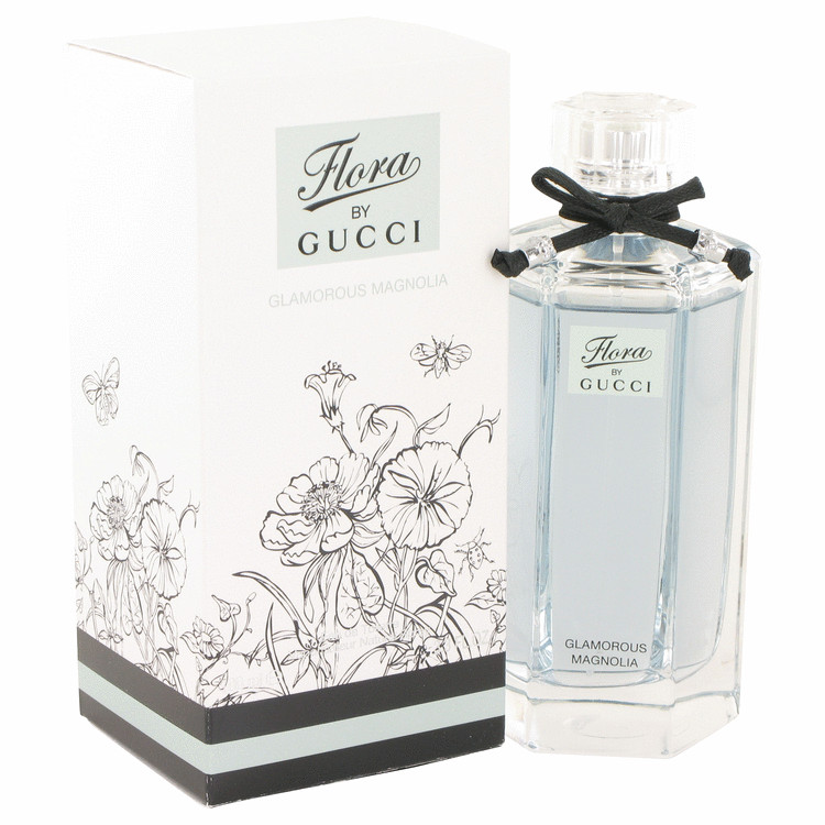 Gucci Flora Glamorous Magnolia Eau De Toilette Spray for Women 3.3 oz