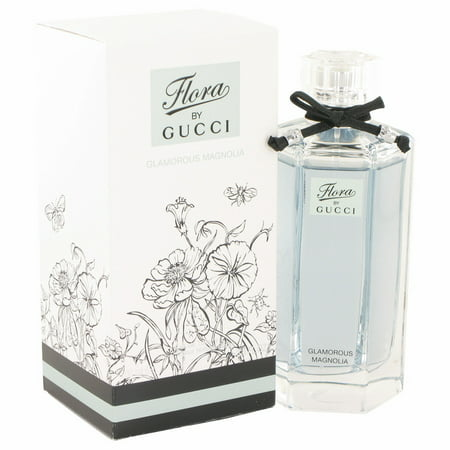 Gucci Flora Glamorous Magnolia Eau De Toilette Spray for Women 3.3 oz