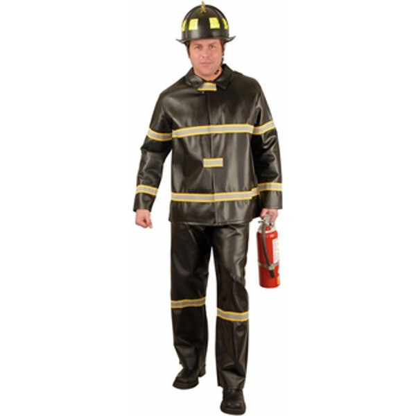 Charades Costumes Adult Firefighter Costume~Large 11-13 /...