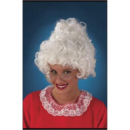 Mrs. Santa Wig FunWorld 7522 - Mrs Santa