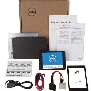 "Dell 256 GB Solid State Drive - SATA (SATA/600) - 2.5"" - Internal - USB 2.0"