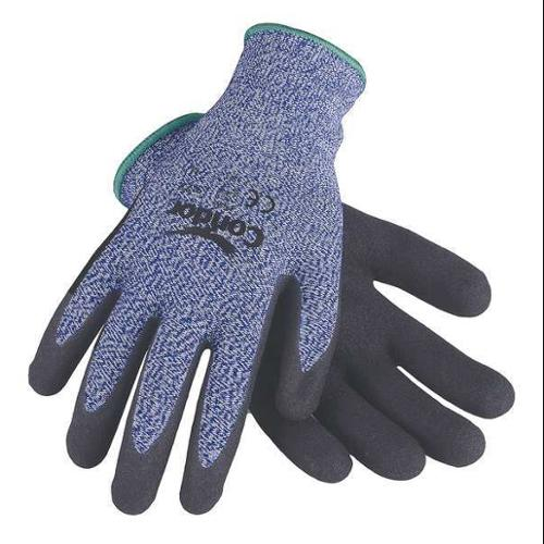 Condor 29JV63 XL Blue/Black Cut Resistant Gloves