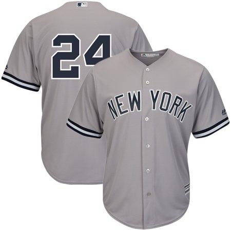Gary Sanchez New York Yankees Majestic Cool Base Player Replica Jersey - Gray