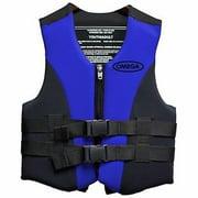 Omega Flex-Fit Neo Vest, Blue, XX-Large/3X-Large