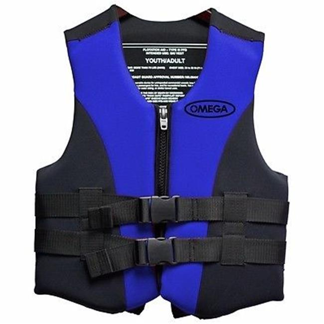Omega Flex-Fit Neo Vest, Blue, XX-Large/3X-Large
