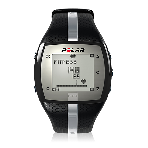 Polar FT7 Men's Heart Rate Monitor Black/Silver 90038066