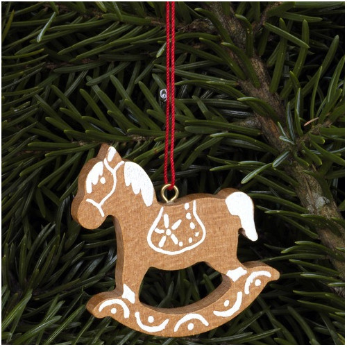 Christian Ulbricht Rocking Horse Ornament