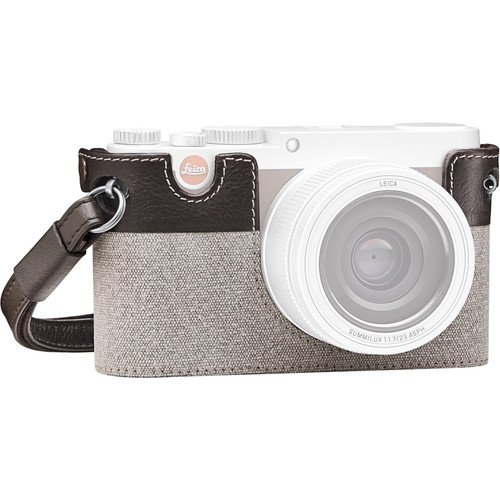 Leica X-Protector Country Case for Leica X (Typ 113)(Canvas/Leather, Taupe)