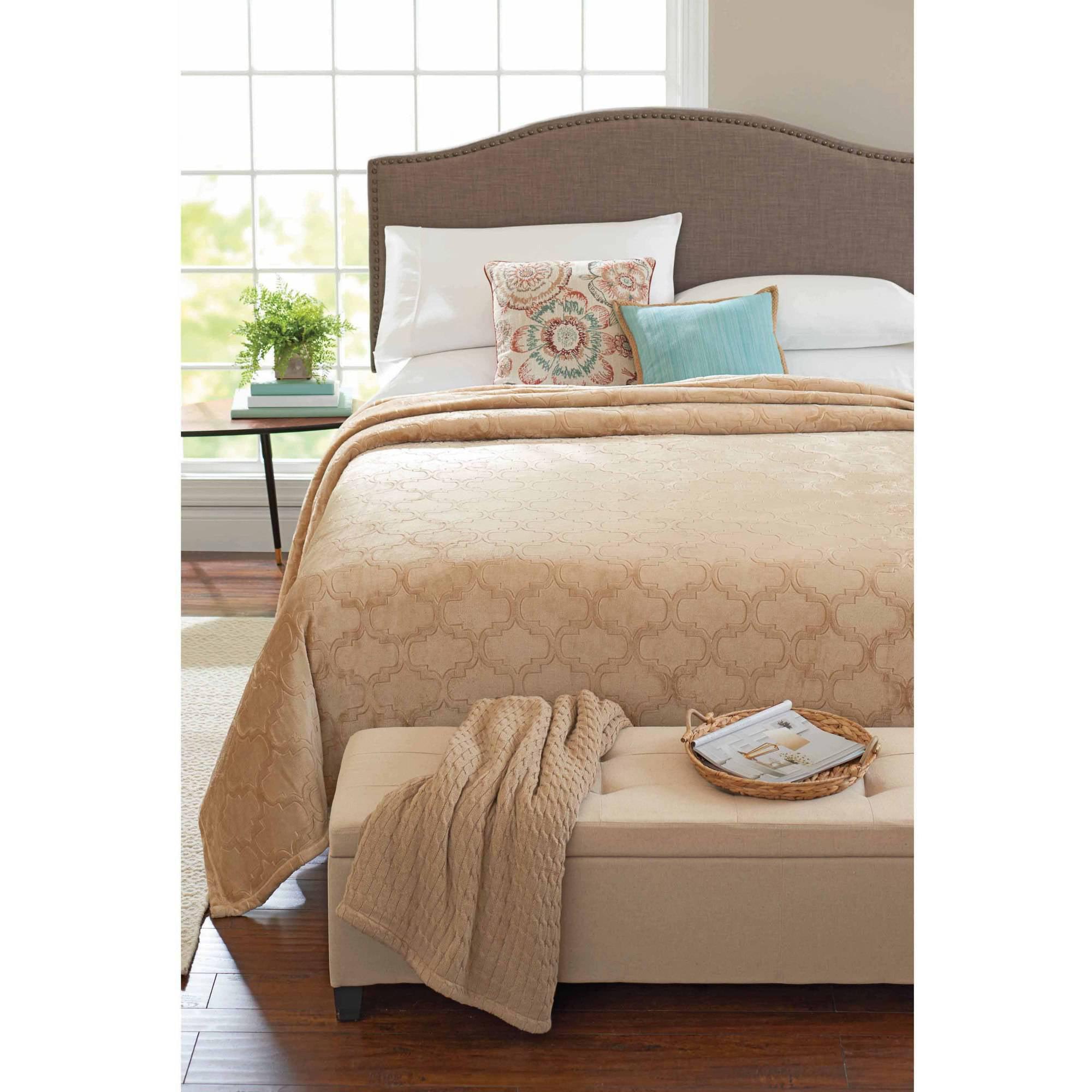 Velvet Plush Blanket - Walmart.com