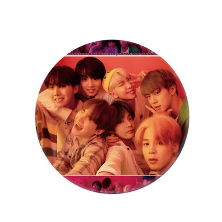 Fancyleo Kpop BTS Bangtan Boys Fake Love Album Badge Brooch Chest Pin Button Fans Gift (Badges Pins)