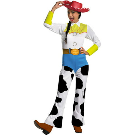 Toy Story Jessie Classic Adult Halloween Costume - Halloween Costumes Last Minute Adults