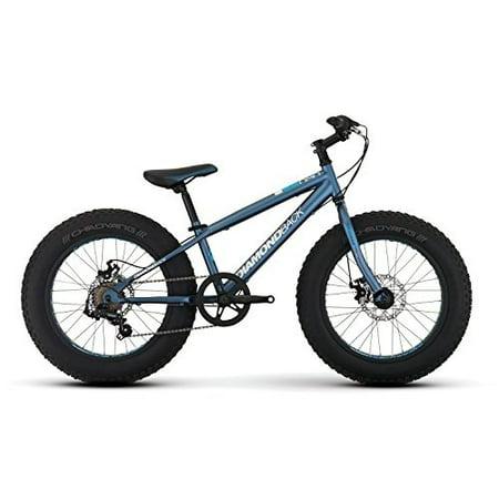 Diamondback Bicycles El Oso Nino Complete Youth Fat Bike, Satin Blue, One Size Diamondback Bikes Parts