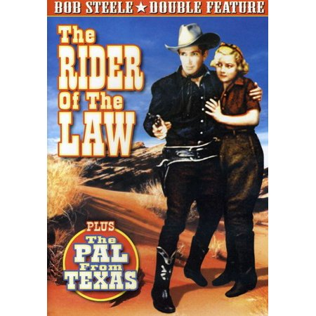 The Rider of the Law / The Pal From Texas (DVD) (Train Times From New Rochelle To Grand Central)